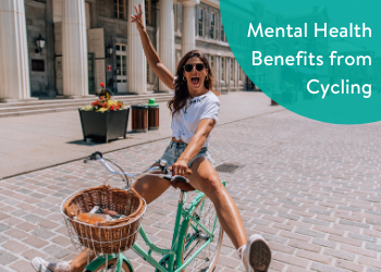 Mental Health Benefits from Cycling 1 - Reid ® - Cycling in Lockdown