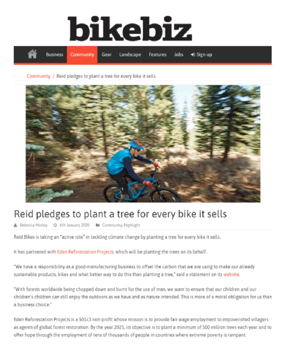 bikebiz - Reid ® - In the press