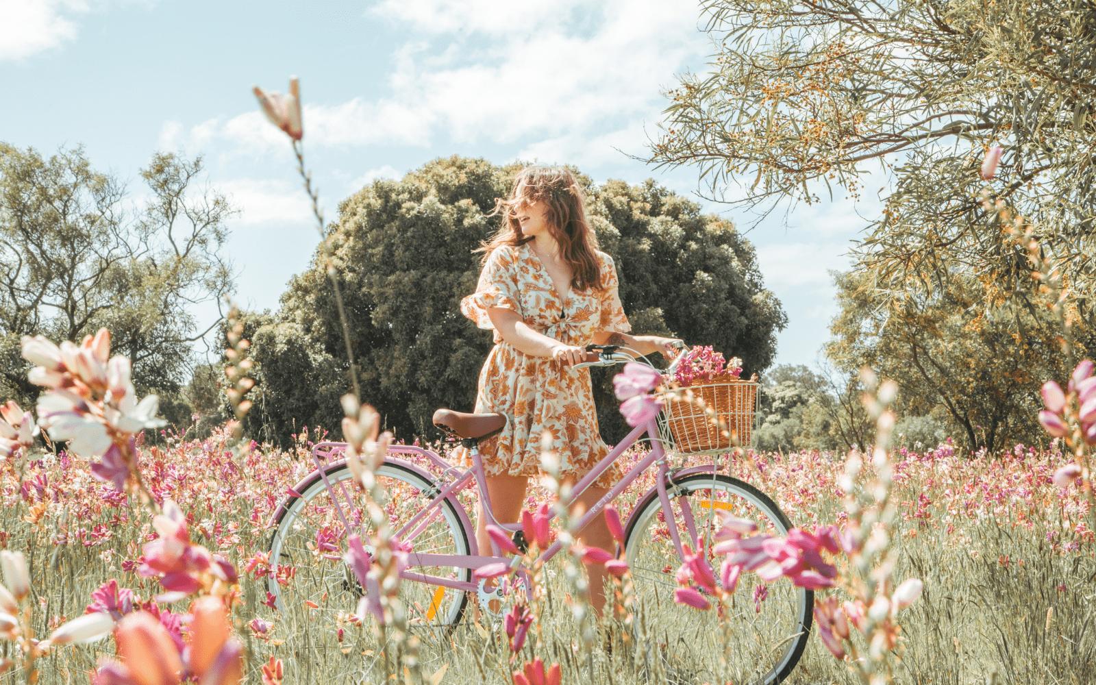 Lifestyle Images Vintage min - Reid ® - Ladies Classic 7-Speed Bike