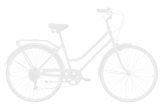 bike base - Reid ® - Ladies Classic 7-Speed Bike