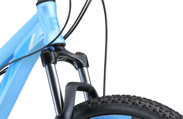 MTB Pro Disc WSD Blue with Zoom 100mm travel suspension
