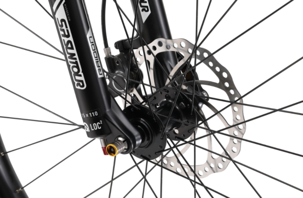 Vice FS 2.0 Matte Black with disc brakes