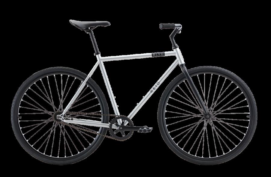 BLVD Silver Bike
