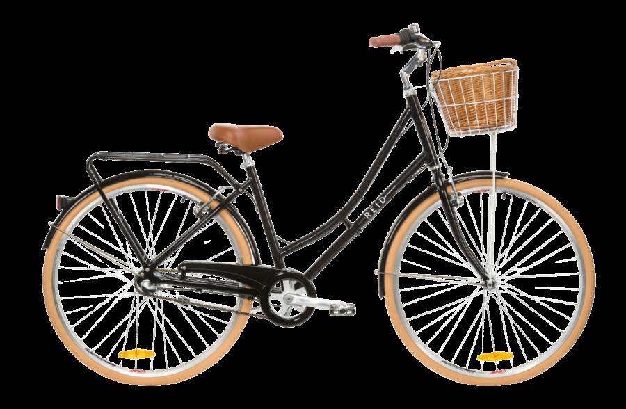 Ladies Deluxe Black Bike