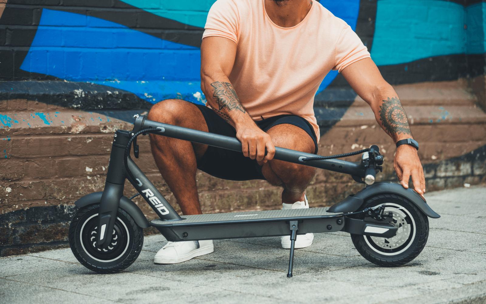 31 1 1 - Reid ® - E4 Plus eScooter