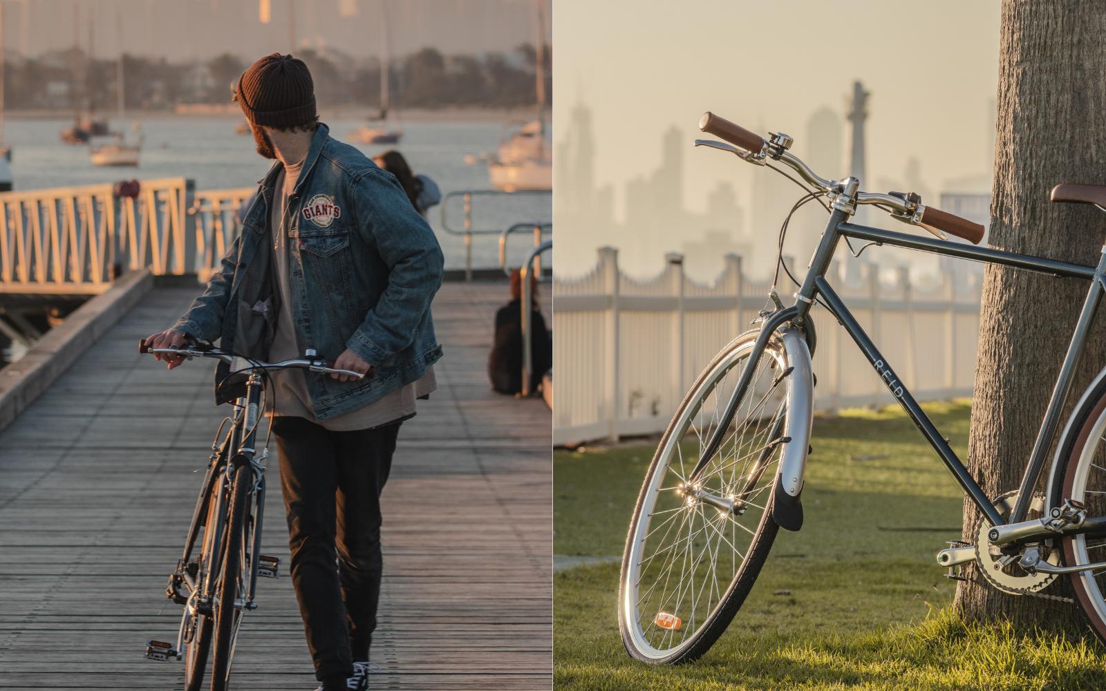 32 9 - Reid ® - Gents Roller Bike