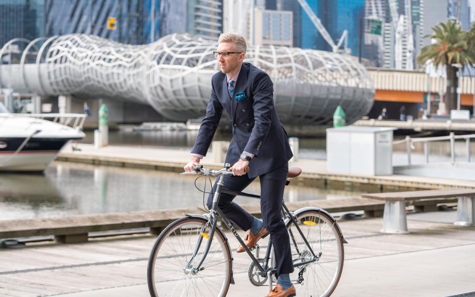 35 7 - Reid ® - Gents Roller Bike