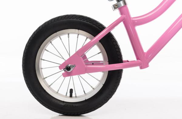 Girls Vintage Balance Bike Pink