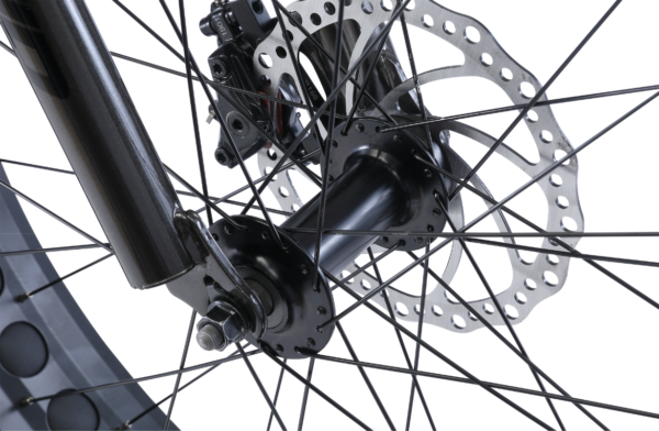 Alpha with disc brakes