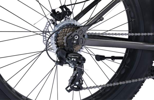 Alpha with Shimano 7-speed