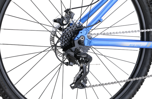 MTB Pro Disc Blue with 24-speed gearing