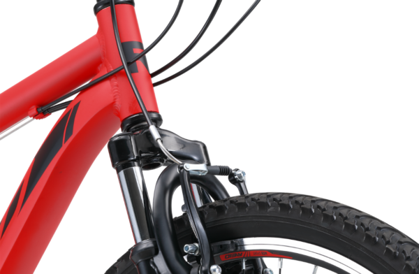 MTB Sport Red with spring suspension