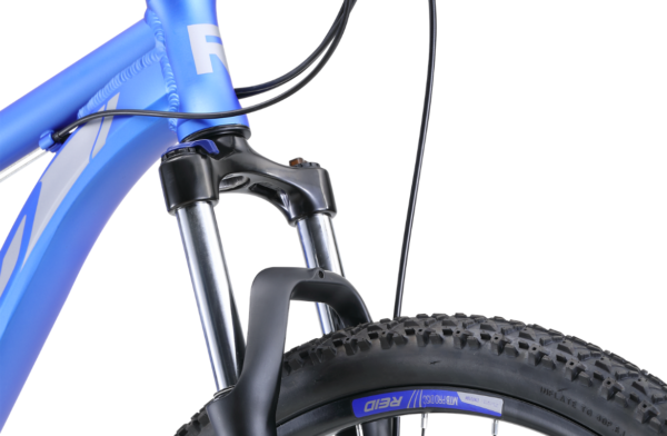 MTB Pro Disc Blue with Zoom 100mm travel suspension