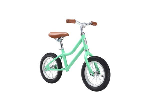 Girls Vintage Balance Bike Mint Green