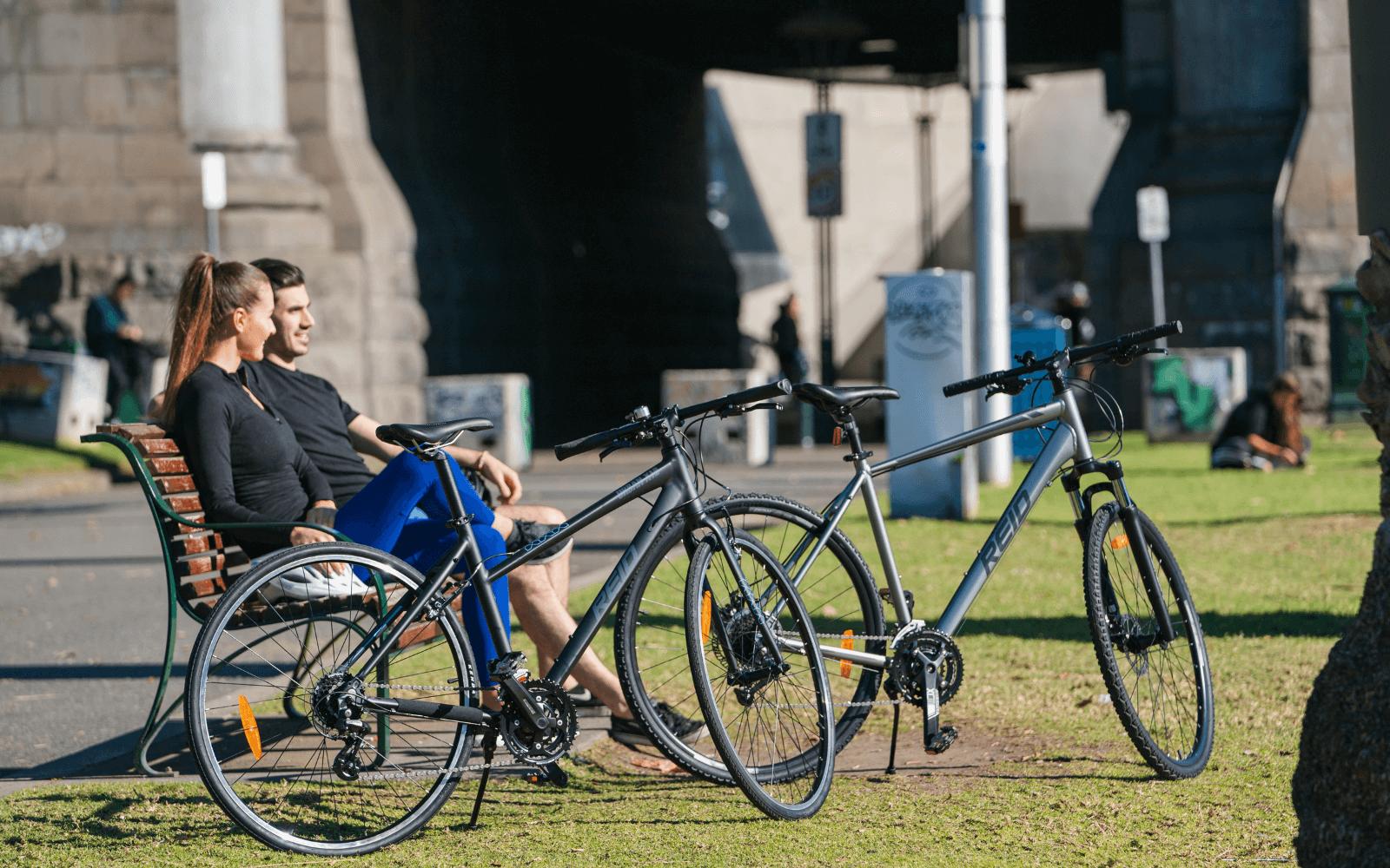 Copy of Copy of Lifestyle images 32 1 - Reid ® - City 3 Bike