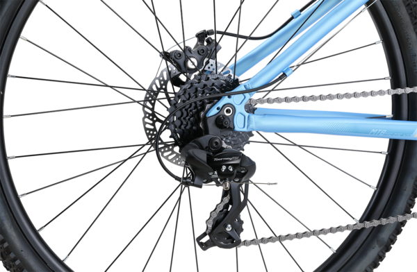 MTB Pro Disc WSD Blue with 24-speed Rapidfire gearing