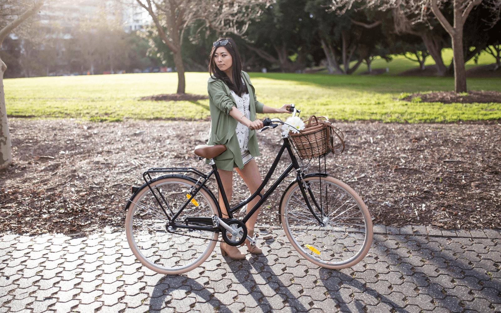 Lifestyle Images Vintage 6 1 - Reid ® - Ladies Deluxe 3-Speed Bike