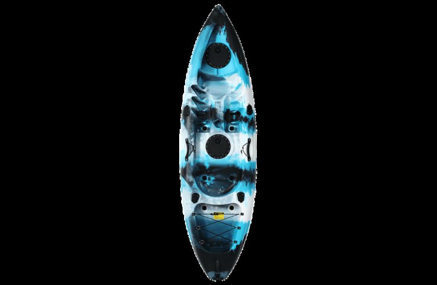 Rip Camo Blue Kayak