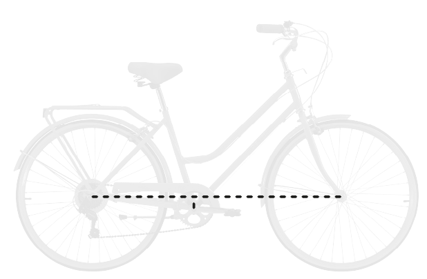 base bike BB DROP 8 - Reid ® - Gents Roadster Bike