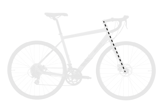 base bike FORK LENGTH FULL 1 - Reid ® - Granite 1.0 Bike