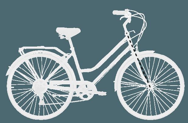 base bike FORK LENGTH FULL 7 - Reid ® - Gents Roadster Bike