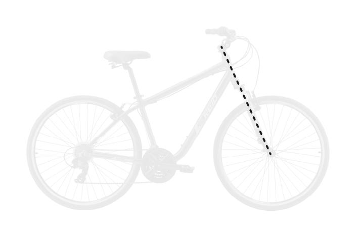 base bike FORK LENGTH FULL 8 - Reid ® - Original City Bike