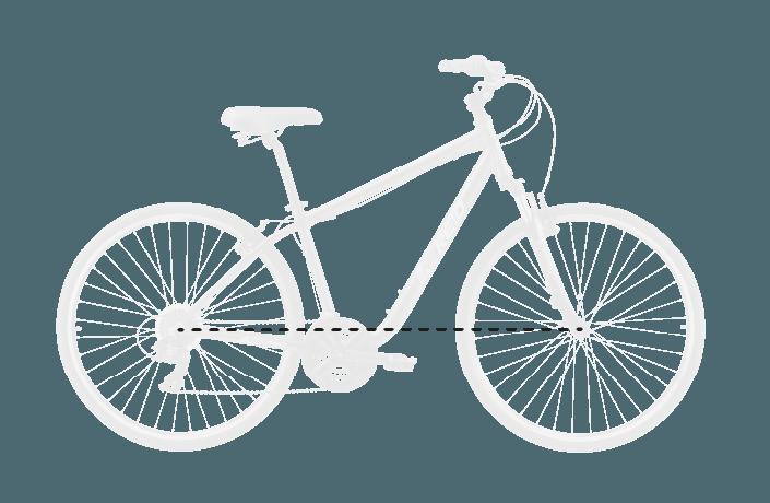 base bike FORK LENGTH FULL 9 - Reid ® - Transit Disc Bike