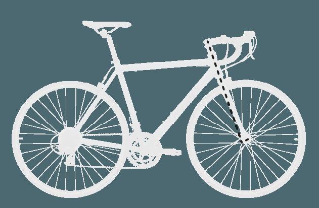 base bike FORK RAKE OFFSET 6 - Reid ® - Falco Sport Bike