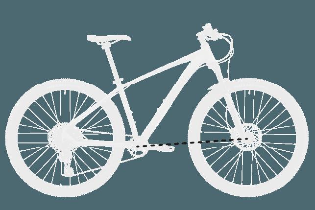 base bike FRONT CENTER 2 - Reid ® - MTB Pro Disc Bike