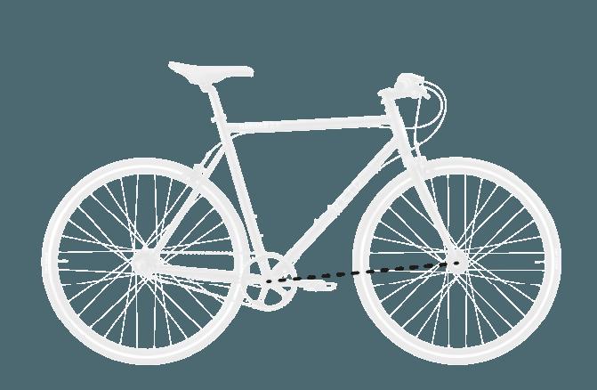 base bike FRONT CENTER 3 - Reid ® - BLVD Bike