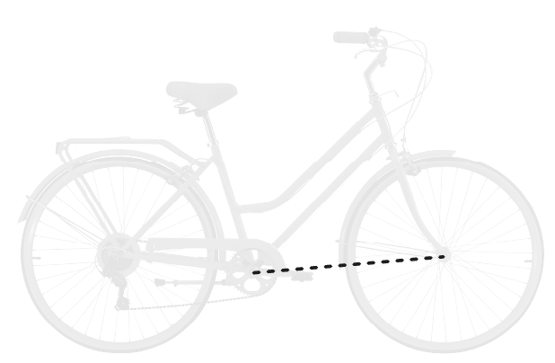 base bike FRONT CENTER 5 - Reid ® - Ladies Encore eBike