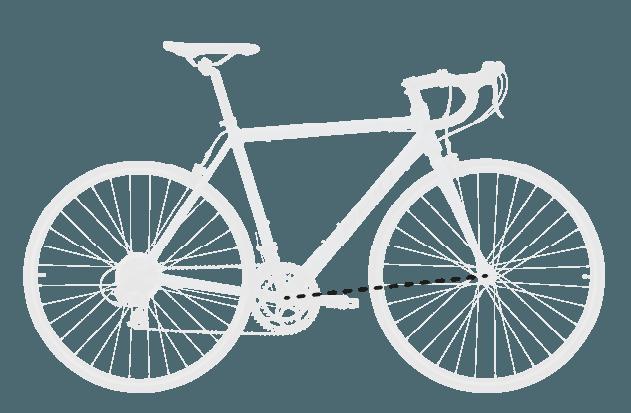 base bike FRONT CENTER 6 - Reid ® - Falco Sport Bike