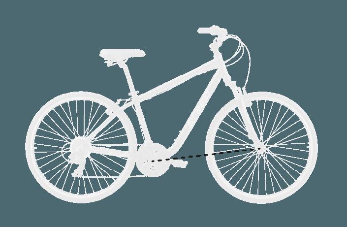base bike FRONT CENTER 7 - Reid ® - Original City Bike