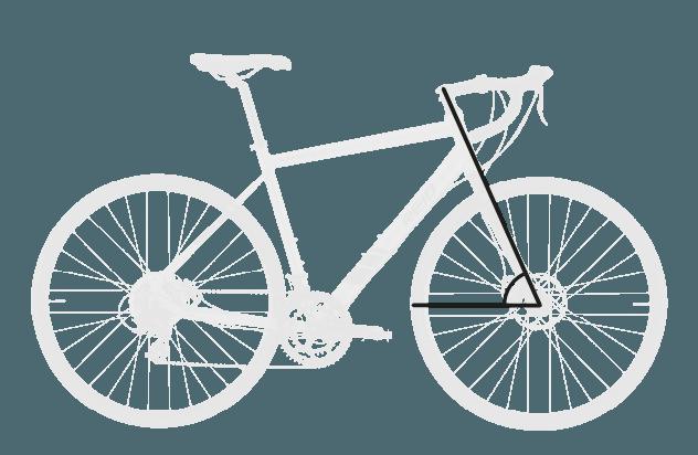 base bike HEAD TUBE ANGLE 1 - Reid ® - Granite 1.0 Bike