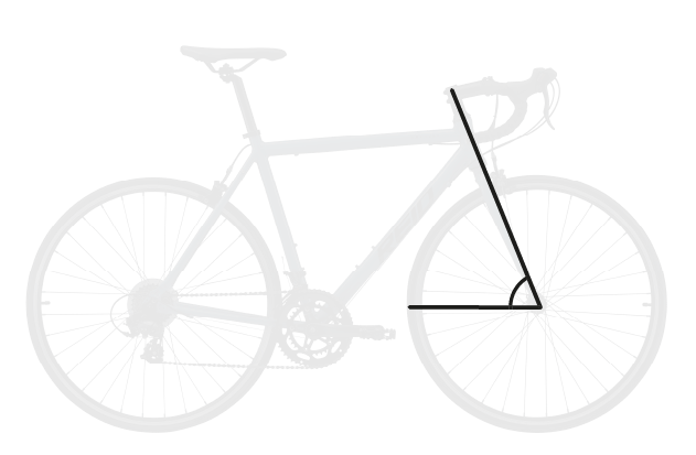 base bike HEAD TUBE ANGLE 6 - Reid ® - Falco Sport Bike