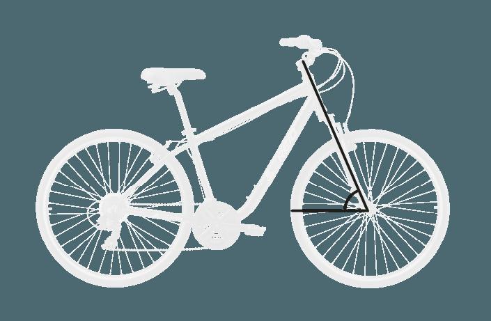 base bike HEAD TUBE ANGLE 7 - Reid ® - Original City Bike