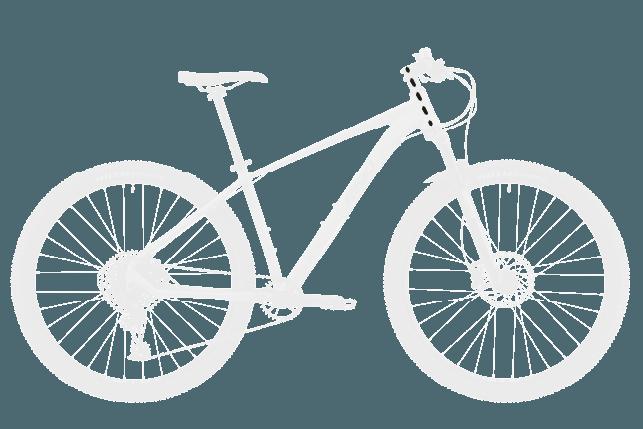 base bike HEAD TUBE LENGTH 2 - Reid ® - MTB Pro Disc Bike