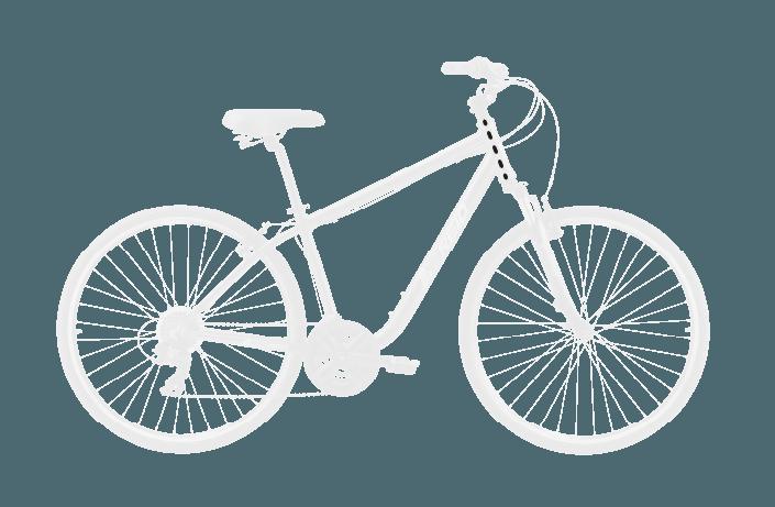 base bike HEAD TUBE LENGTH 7 - Reid ® - Original City Bike