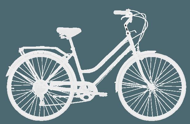 base bike HEAD TUBE LENGTH 8 - Reid ® - Gents Roadster Bike