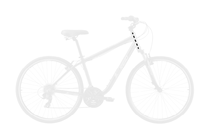 base bike HEAD TUBE LENGTH 9 - Reid ® - Transit Disc Bike