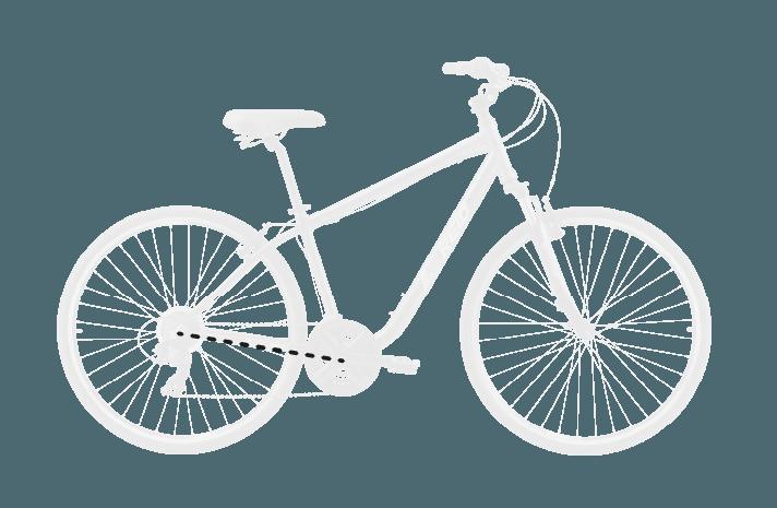 base bike RC LENGTH 10 - Reid ® - Original City Bike