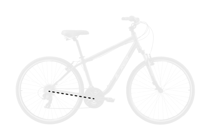 base bike RC LENGTH 11 - Reid ® - Transit Disc Bike