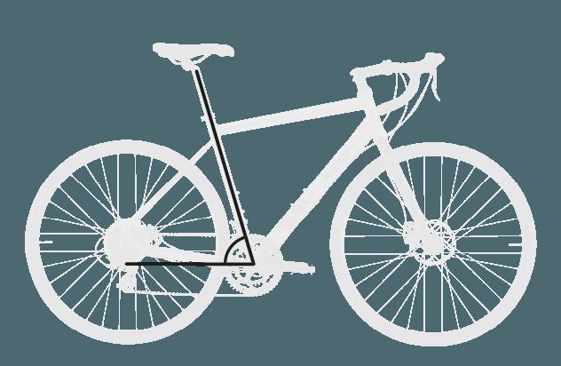 base bike SEAT TUBE ANGLE 1 - Reid ® - Granite 1.0 Bike