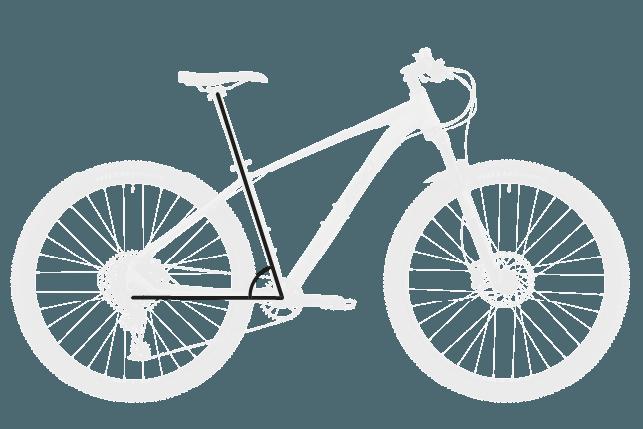 base bike SEAT TUBE ANGLE 2 - Reid ® - MTB Pro Disc Bike