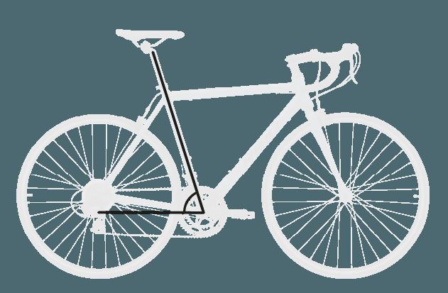 base bike SEAT TUBE ANGLE 6 - Reid ® - Falco Sport Bike