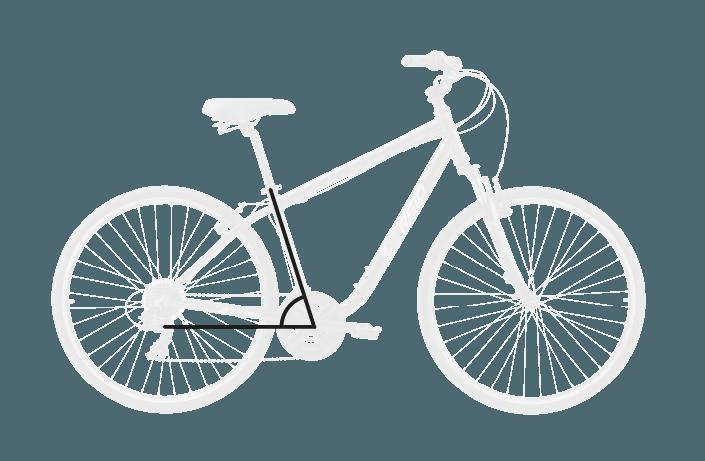 base bike SEAT TUBE ANGLE 9 - Reid ® - Transit Disc Bike