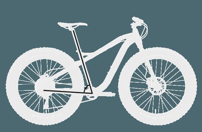 base bike SEAT TUBE ANGLE - Reid ® - Vice 2.0 Bike