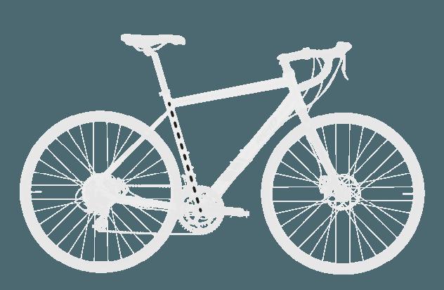 base bike SEAT TUBE LENGTH 1 - Reid ® - Granite 1.0 Bike