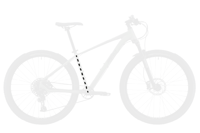 base bike SEAT TUBE LENGTH 2 - Reid ® - MTB Pro Disc Bike