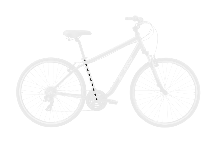 base bike SEAT TUBE LENGTH 9 - Reid ® - Transit Disc Bike